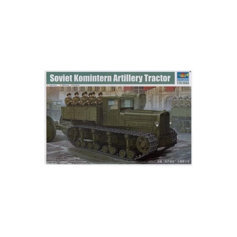 TRU-05540 trumpeter 05540 1/35 Soviet Komintern Artillery Tractor