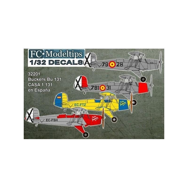 FC-32001 FC 32001 1/32 Bücker Bü 131  CASA 1131 en España
