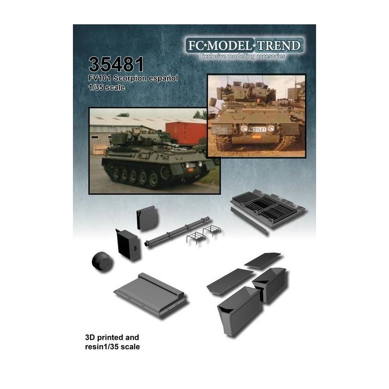 FC-35481 FC 35481 1/35 FV101 Scorpion español