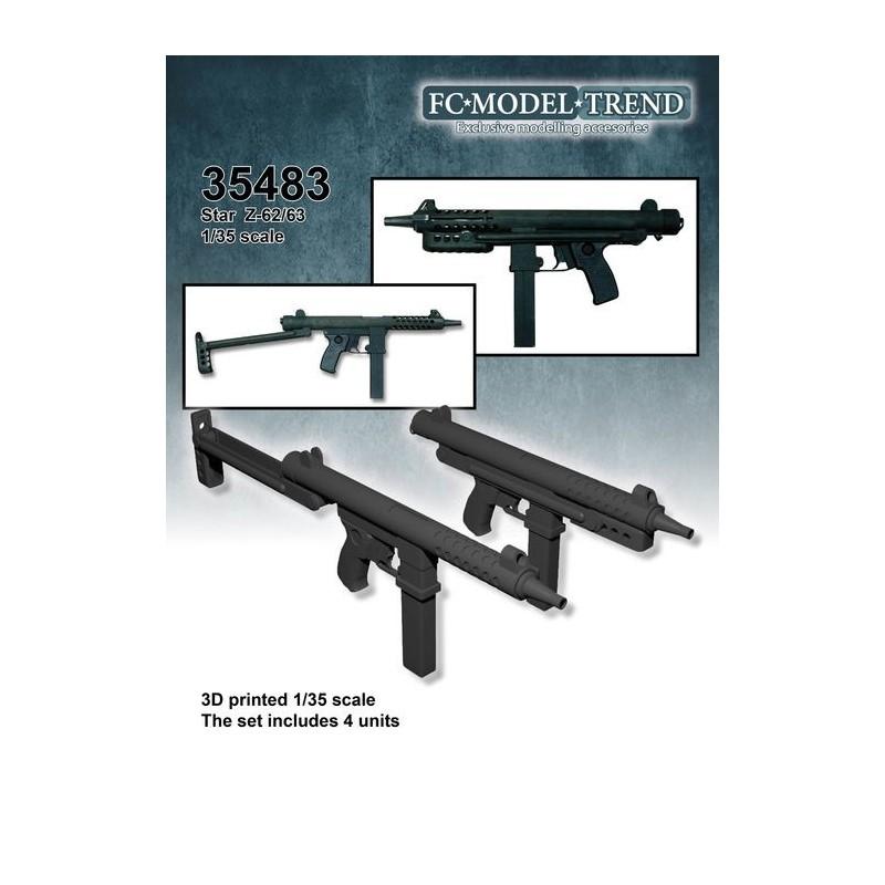 FC-35483 FC 35483 1/35 Subfusiles Star Z62/63