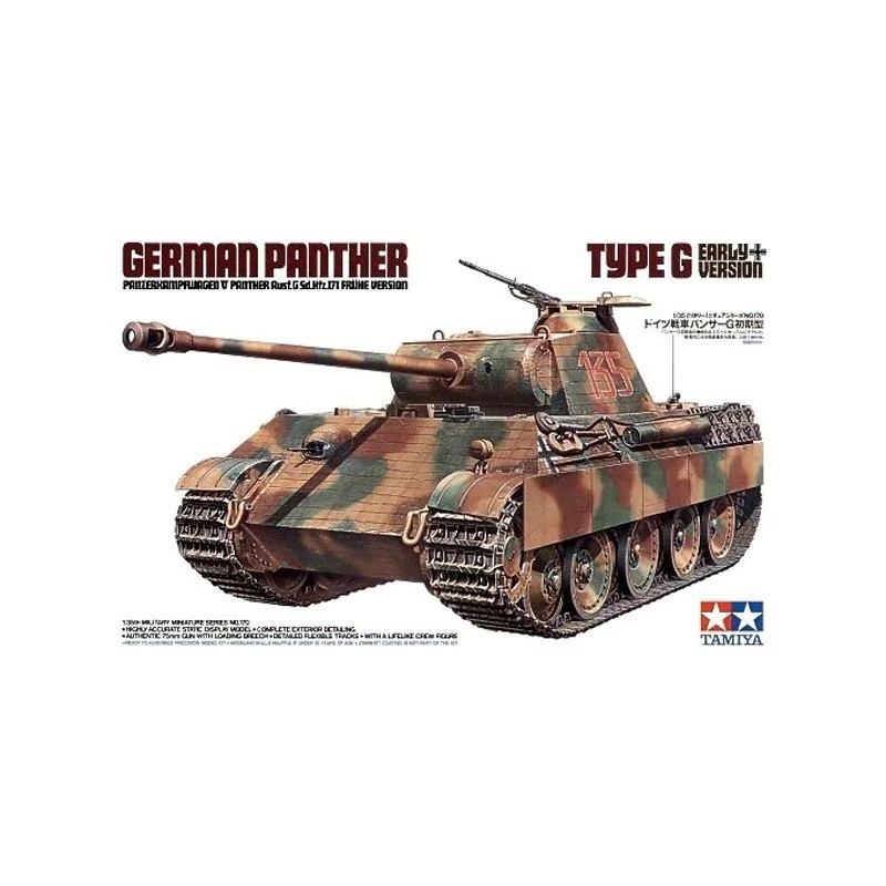TAM-35170 Tamiya 35170 1/35 German Panther Type G Early Version