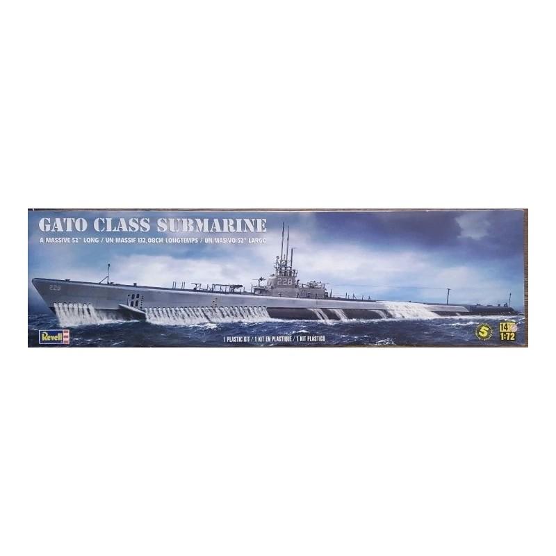 REV-850394 Revell 850394 1/72 Gato clase Submarine