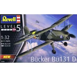 REV-03886 Revell 03886 1/32 Bucker Bu 131 D