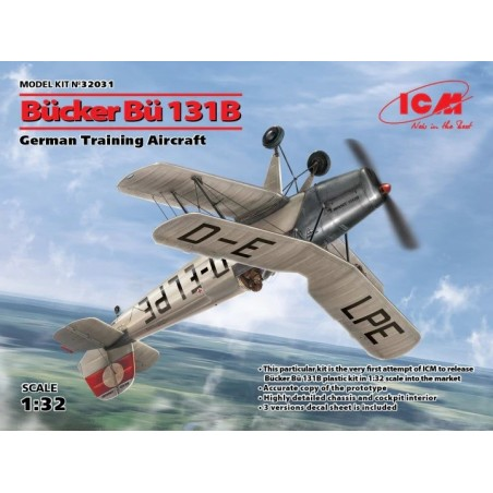 ICM 32031 1/32 BUCKER BU-