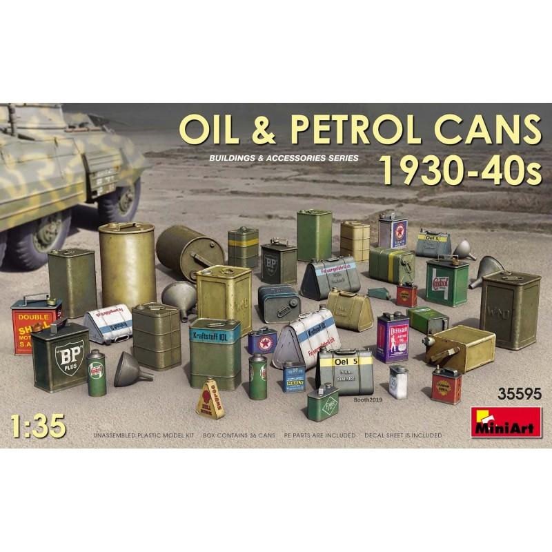 MA-35595 miniart 35595 1/35 Oil  Petrol Cans