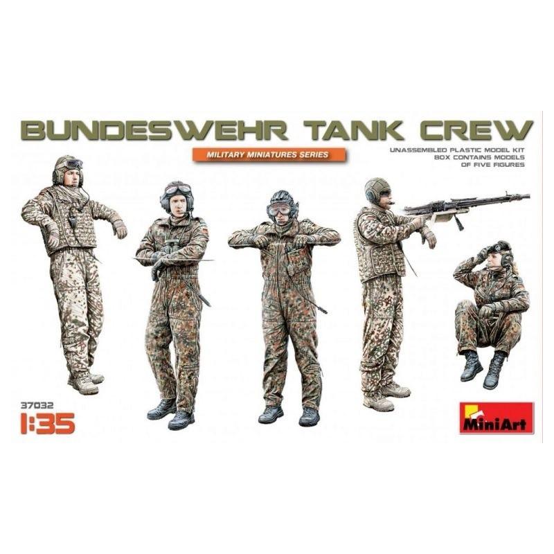 MA-37032 MINIART 37032 1/35 Bundeswehr Tank Crew