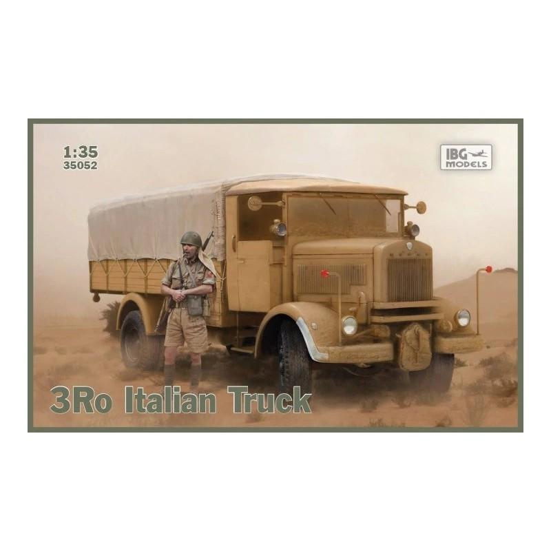 IBG-35052 IBG 35052 1/35 3Ro Italian Truck - Cargo Version -