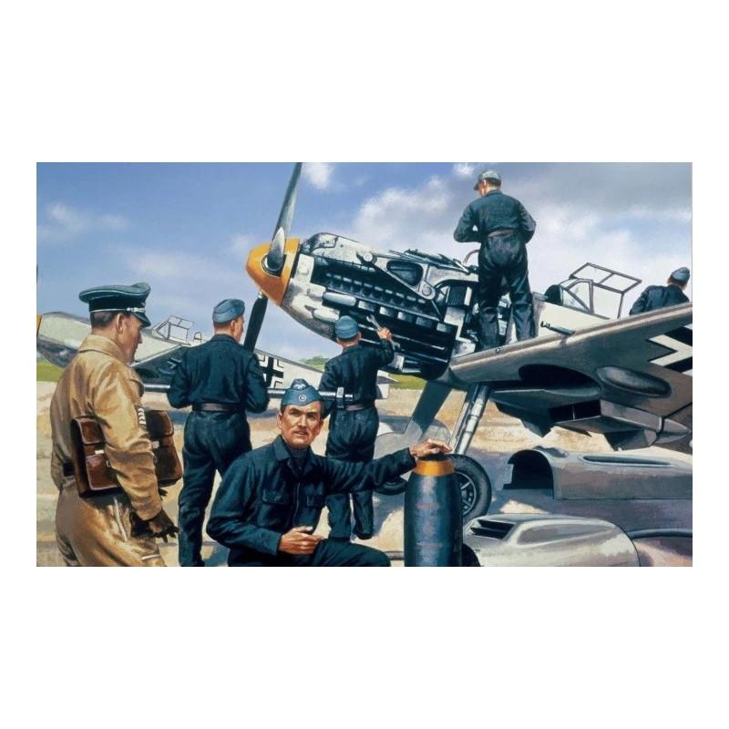 AFX-A00755V AIRFIX A00755V 1/76 Luftwaffe Personnel