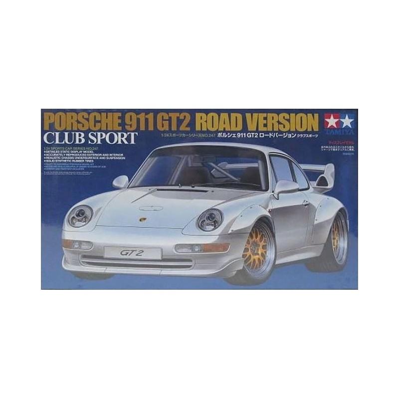 TAM-24247 Tamiya 24247 1/24 Porsche 911 GT2 Road Version Club Sport