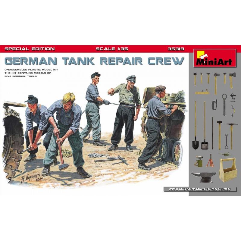 MA-35319 MINIART 35319 1/35  German Tank Repair Crew. Special Edition
