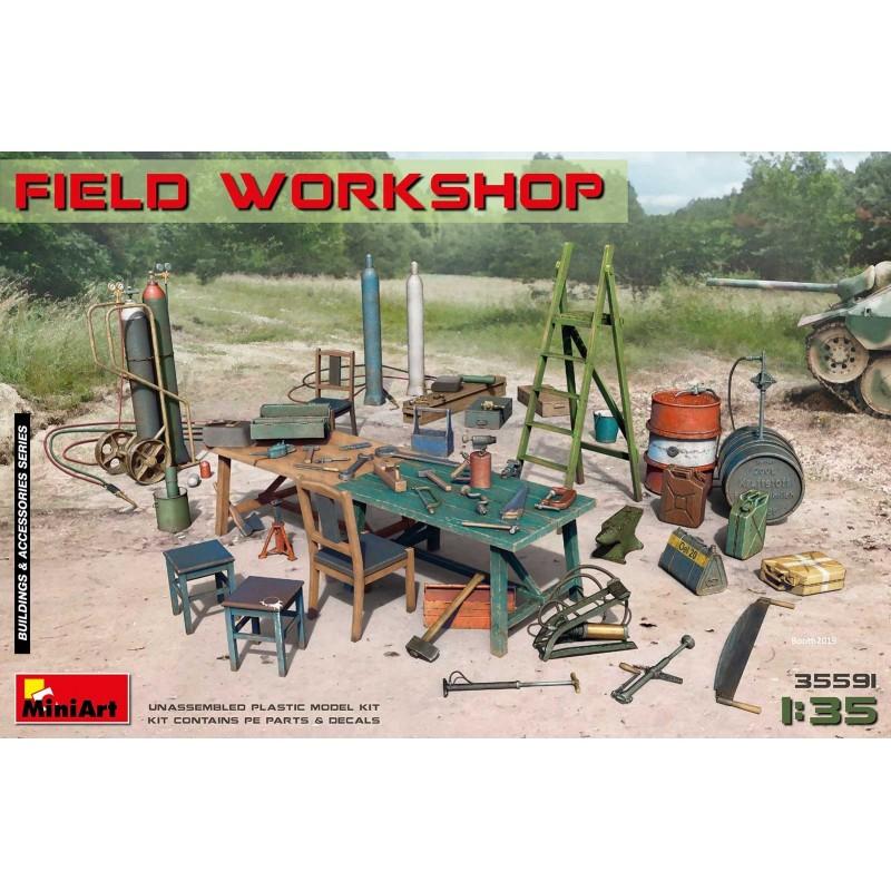 MA-35591 MINIART 35591 1/35  Field Workshop