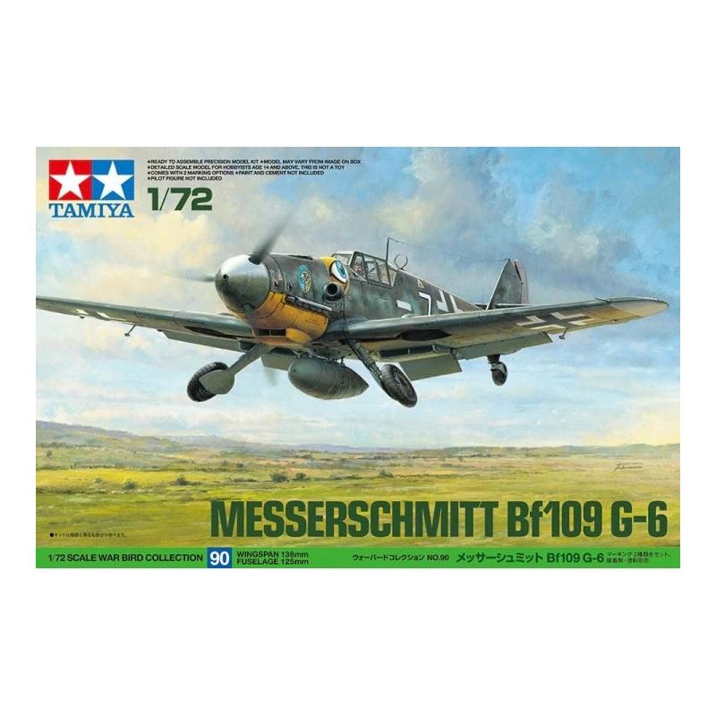 TAM-60790 tamiya 60790 1/72 Messerschmitt Bf 109 G-6