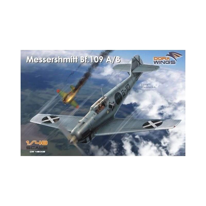 DW-48009 DORA WINGS 48009 1/48 Messershmitt Bf.109 A/B  Legion Condor