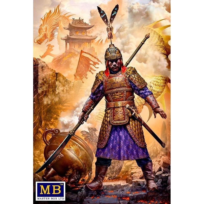 MB-24059 MASTER BOX 24059 1/24 Zhu Yuanzhang. The founding emperor of China.s Ming dynasty. Battle for Nanjing,1356 -
