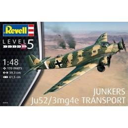 REV-03918 Revell 03918 1/48 Junkers Ju52/3mg4e Transport