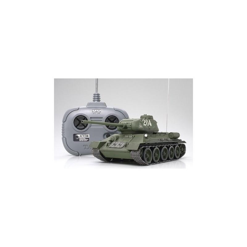 TAM-48208 Tamiya 48208 1/35 RC Russian Med Tank T-34-85