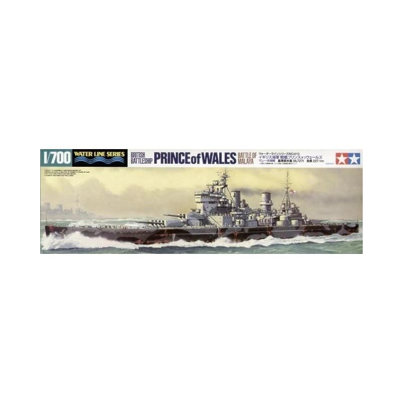 TAM-31615 Tamiya 31615 1/700 British Battleship Prince of Wales