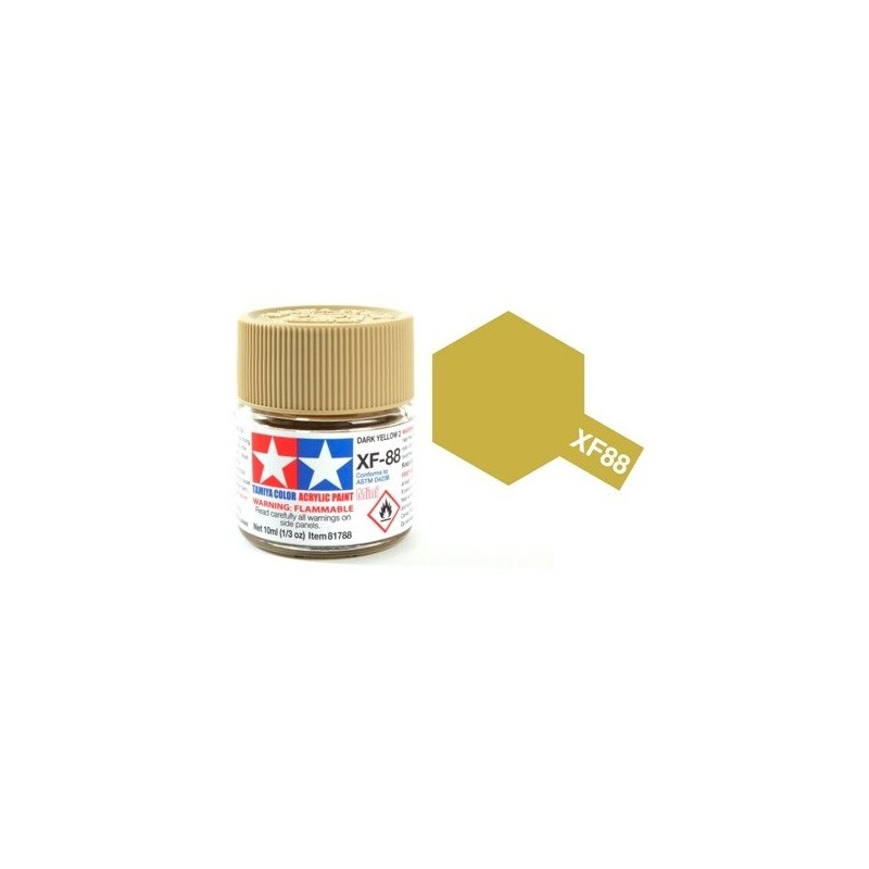 TAM-81788 TAMIYA 81788 XF-88 Dark yellow 2