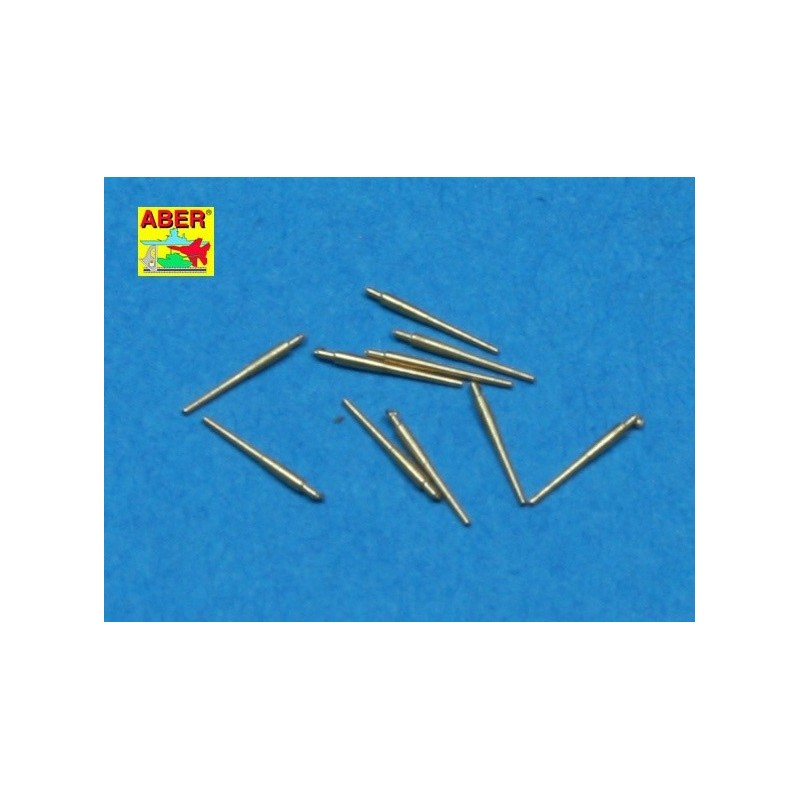 ABE-1:700 L-20 ABER 1:700 L-20 1/700 Set of 10pcs 120 mm  barrels for Royal Navy ships