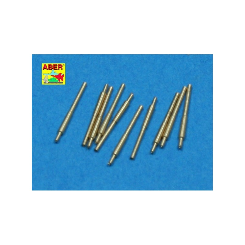 ABE-1:700 L-27 ABER 1:700 L-27 1/700 Set of 10 pcs 203 mm barrels for Japan ships : Atago, Kumano, Myoko etc.