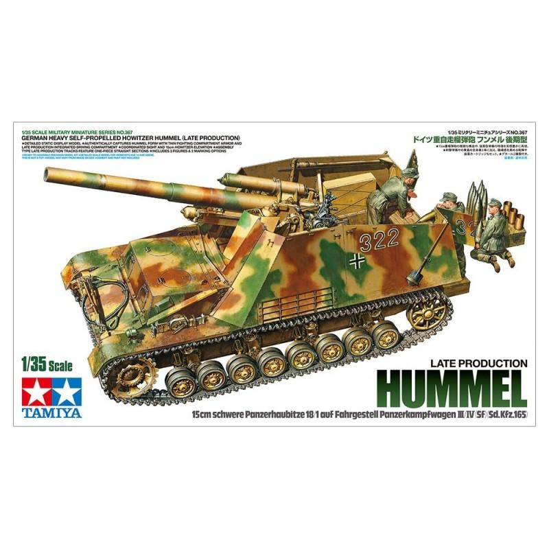 TAM-35367 Tamiya 35367 1/35 Hummel Sd.Kfz. 165 ( Late Production )