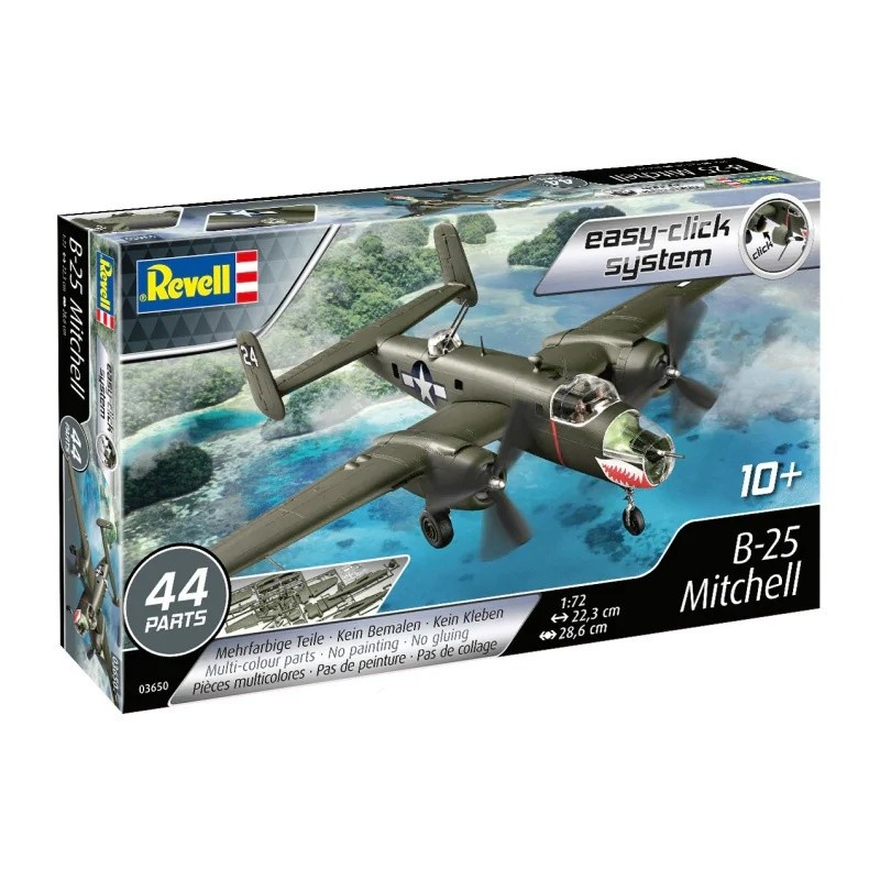 REV-03650 Revell 03650 1/72 B-25 Mitchel easy-click system