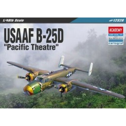 ACA-12328 ACADEMY 12328 1/48 USAAF B-25D PACIFIC THEATRE