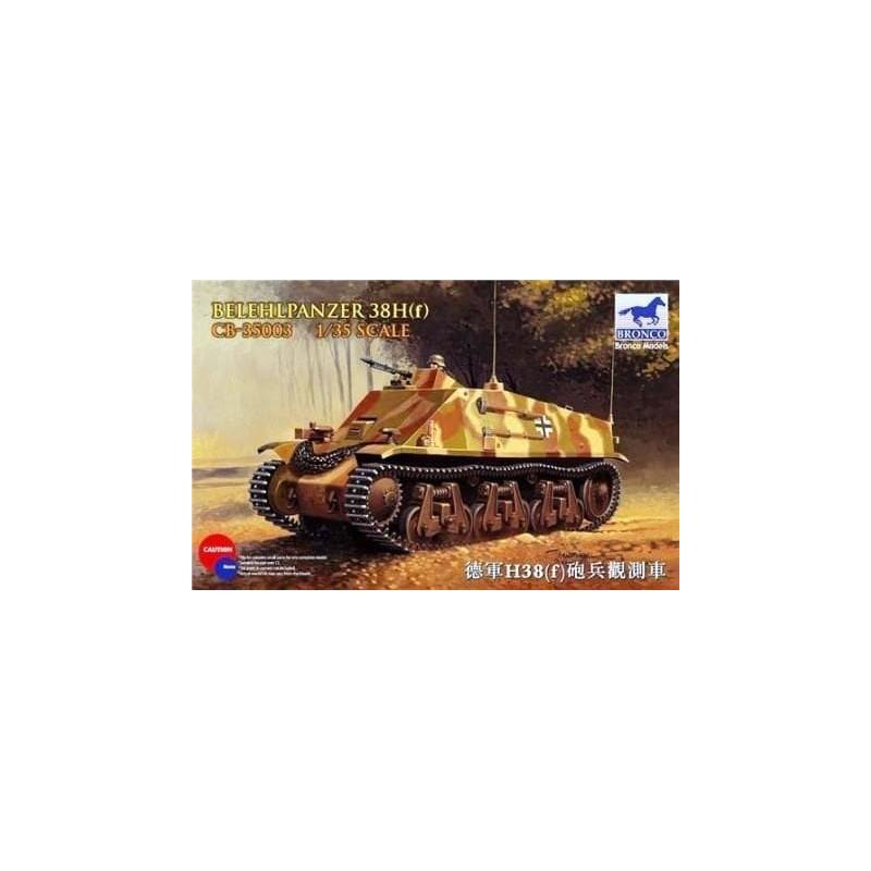 BM-35003 Bronco model 35003 1/35 Befehlpanzer 38(f)