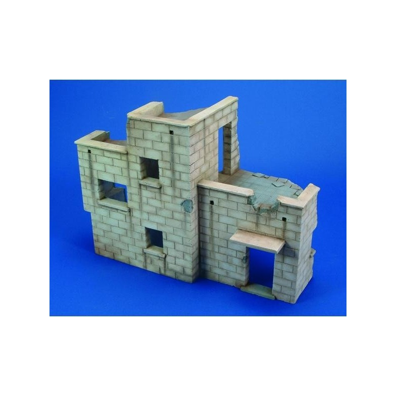 RM-501 Royal Model 501 1/35 Israeli House Ruin