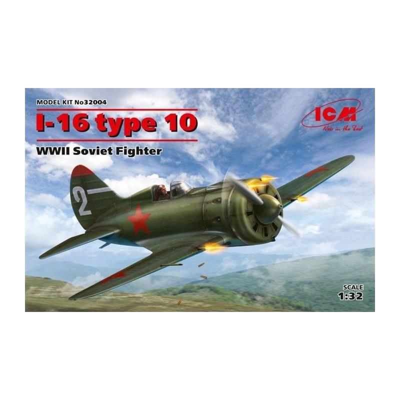 ICM-32004 icm 32004 1/32 Polikarpov I-16 tipo 10