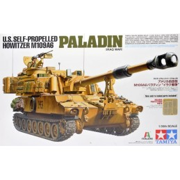 TAM-37026 Tamiya 37026 1/35 U.S. Self-Propelled Howitzer M109A6 Paladin (Iraq War)