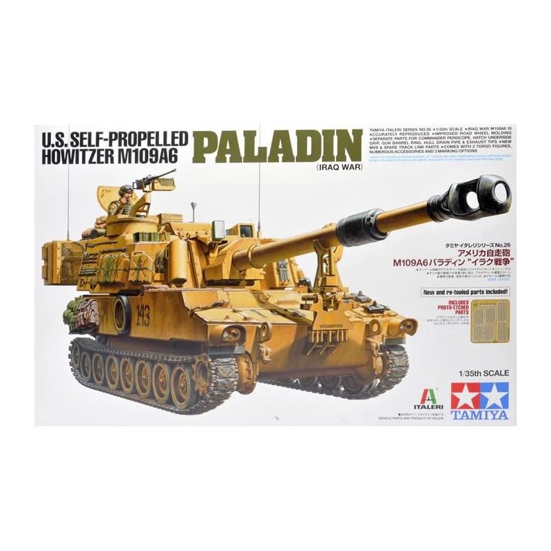 TAM-37026 Tamiya 37026 1/35 U.S. Self-Propelled Howitzer M109A6 Paladin (Iraq War)