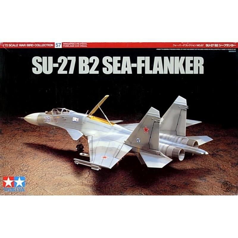 TAM-60757 Tamiya 60757 1/72 SU-27 B2 Sea Flanker
