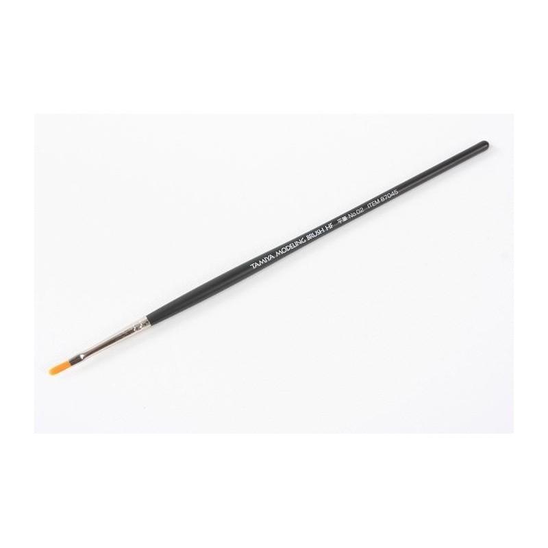 TAM-87045 Tamiya 87045 High Finish Flat Brush No.02