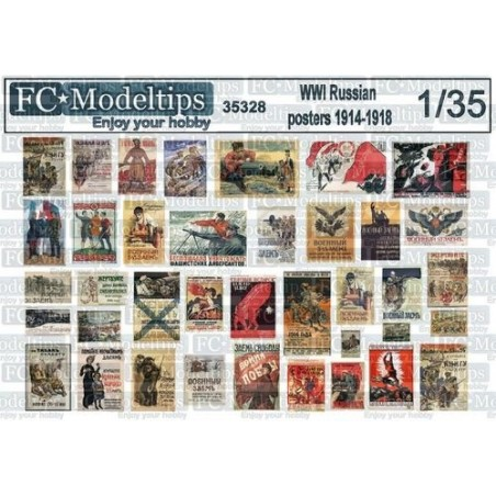 FC 35328 1/35 POSTERS RUS