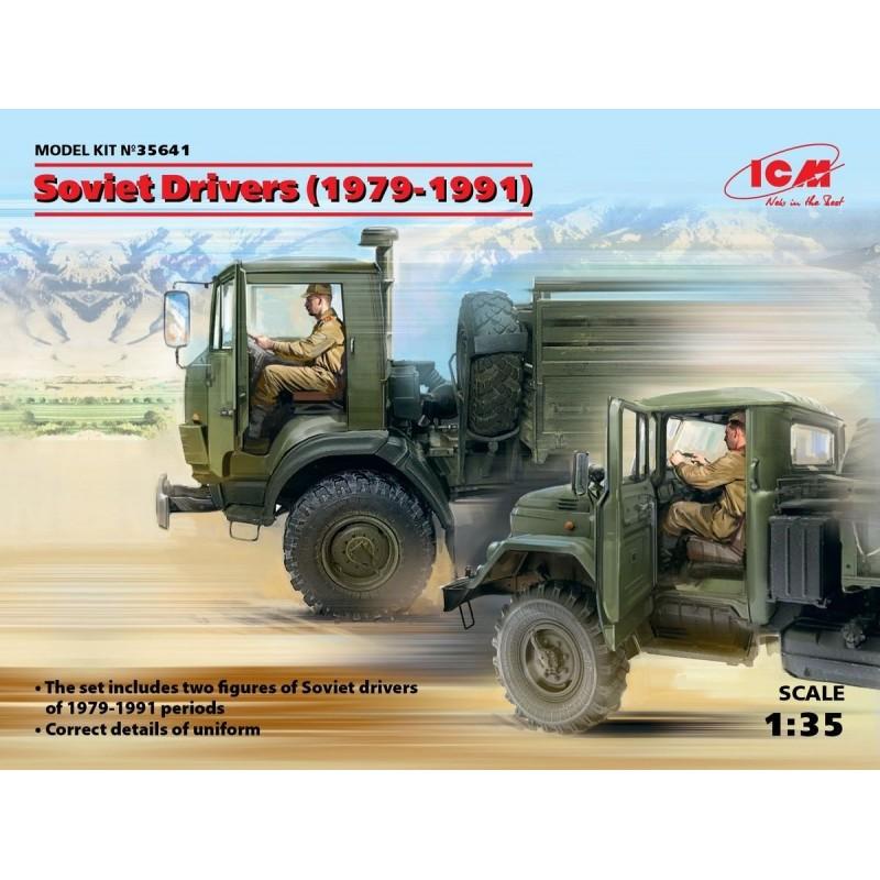 ICM-35641 ICM 35641 1/35 Soviet Drivers (1979-1991) (2 figures)