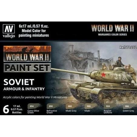 VALLEJO 70202 WWII-SOVIET