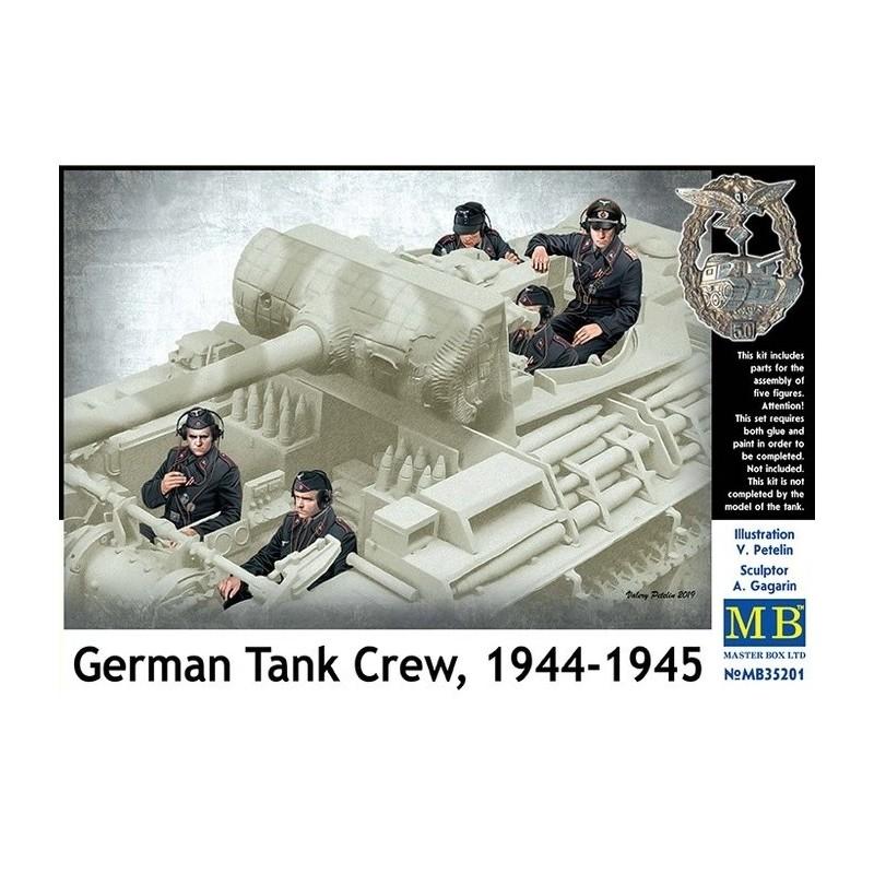 MB-35201 MASTER BOX 35201  1/35 German Tank Crew, 1944-1945