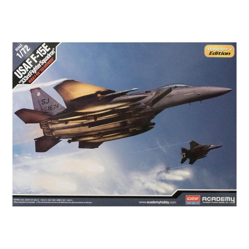 """ACA-12550 ACADEMY 12550 1/72 USAF F-15E """"333rd SQ"""" MODELER`S EDITION"""
