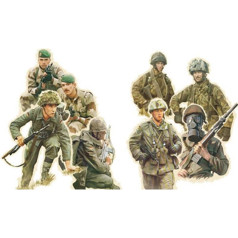ITA-6191 italeri 6191 1/72 NATO TROOPS 1980s