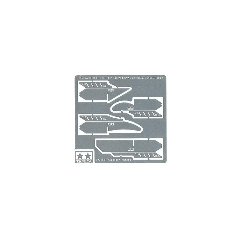 TAM-74105 Tamiya 74105 Fine Craft Saw III (Thick)