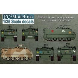 FC-35226 FC 35226 1/35 M113 en los regimientos de caballería de España