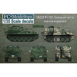 FC-35228 FC 35228 1/35 FV101 Scorpion en España