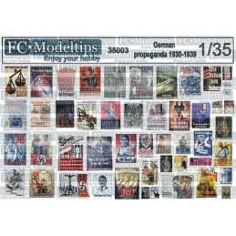 FC-35303 1/35 Carteles de propaganda alemanes 1930-1939