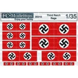 FC-35310 1/35 Banderas del Tercer Reich escala