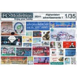 FC-35311 1/35 Carteles, posters y vallas en Afganistán 1