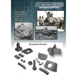 FC-35454 FC 35454 1/35 M1917 light tank 3 en 1
