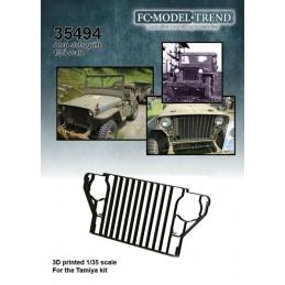 FC-35494 fc 35494 1/35 Rejilla de barras para Jeep Willys