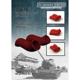 FC-35676 FC 35676 1/35 Escapes para tanque T34 y derivados