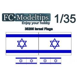 FC-C35705 FC C35706 1/35  Calca modelable bandera Israel